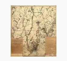Vintage Gettysburg Battlefield Map (1898) Unisex T-Shirt