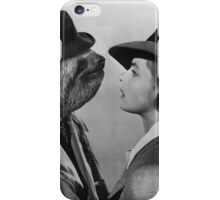 Sloth in Casablanca iPhone Case/Skin