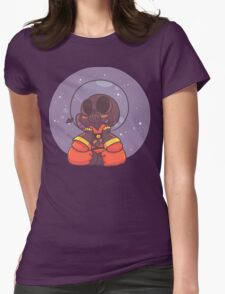 Dreamin of the Stars Womens Fitted T-Shirt