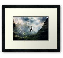 The Light of Flying Framed Print