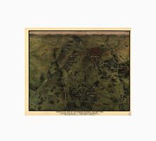 Vintage Gettysburg Pennsylvania Park Map (1916) Unisex T-Shirt