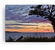 Goodnight Sunshine Canvas Print