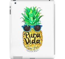 Pineapple in Sunglasses Costa Rica Summer Pure Life iPad Case/Skin