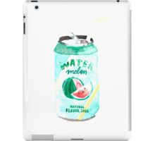 Watermelon Can Summer Happy Drink  iPad Case/Skin