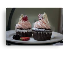 Chocolate Cupcakes Canvas Print