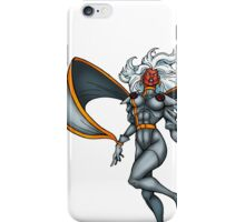 X-MEN Storm 90's Gray iPhone Case/Skin