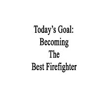 Today's Goal: Becoming The Best Firefighter by supernova23