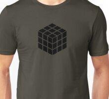 Rubik's Cube - Black Unisex T-Shirt