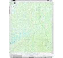 USGS TOPO Map Alaska AK Mount McKinley C-5 357799 1953 63360 iPad Case/Skin