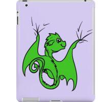 Green Dragon Rider iPad Case/Skin