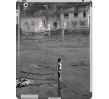 Do not disturb my circles! - Tinos island iPad Case/Skin