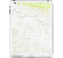 USGS TOPO Map Alaska AK Skagway A-3 359193 1954 63360 iPad Case/Skin