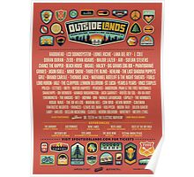 outside lands festival 2016 line up Poster