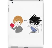 Death Note L and Light iPad Case/Skin