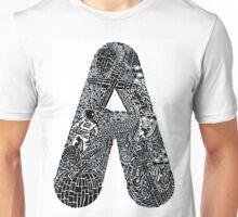 Letter A Unisex T-Shirt