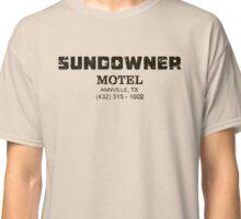SUNDOWNER MOTEL PREACHER Classic T-Shirt