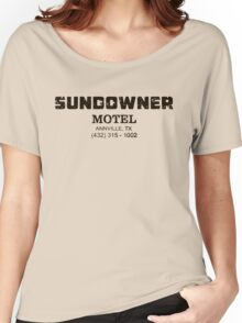 SUNDOWNER MOTEL PREACHER Women's Relaxed Fit T-Shirt