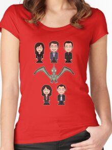 Torchwood team (shirt) Women's Fitted Scoop T-Shirt