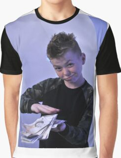 Alistair got a swaggeringly large amount of money for his birthday Graphic T-Shirt