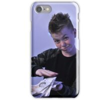 Alistair got a swaggeringly large amount of money for his birthday iPhone Case/Skin