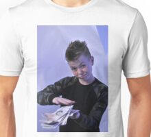 Alistair got a swaggeringly large amount of money for his birthday Unisex T-Shirt