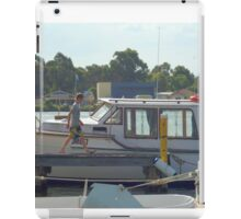 Going fishing iPad Case/Skin