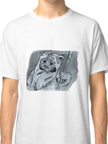 Ewok!! Mixed Media Illustration  Classic T-Shirt