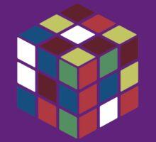 Rubik's Cube - Neon by jitterink