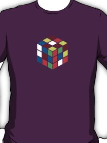 Rubik's Cube - Neon T-Shirt