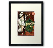 Aladdin Jr 3 - Strobridge - 1894 Framed Print