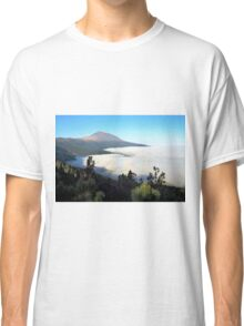 El Teide above the clouds Classic T-Shirt