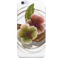 Autumn Hibiscus iPhone Case/Skin