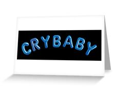 Melanie Martinez Crybaby Greeting Card