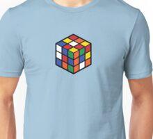 Rubik's Cube - Regular Body Black Large Unisex T-Shirt