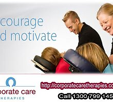 Benefits of Corporate Massage- Office Massage- Workplace Massage Therapy by javierwaltz