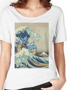 The Great Wave Off Gyarados Women's Relaxed Fit T-Shirt