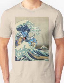 The Great Wave Off Gyarados Unisex T-Shirt