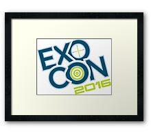 EXOCON 2016 Framed Print