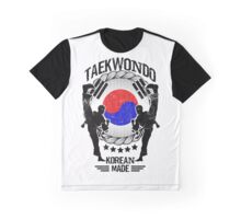 taekwondo korean made martial art sport kick shirt Graphic T-Shirt
