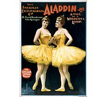 Aladdin Jr 4 - Strobridge - 1894 Photographic Print