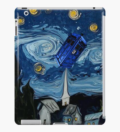 starry night tardis iPad Case/Skin