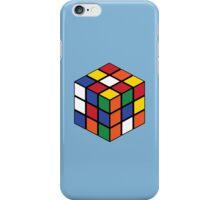 Rubik's Cube - Regular Body Black iPhone Case/Skin