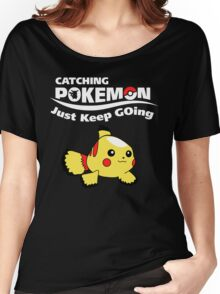Just Keep GOing! Women's Relaxed Fit T-Shirt