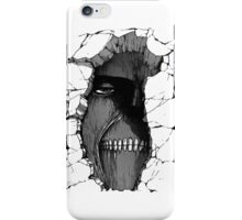 Peeking Titan iPhone Case/Skin