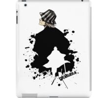 Silhouette  Shop owner  iPad Case/Skin
