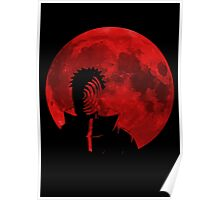 red moon obito Poster