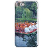 Boston Swan Boats iPhone Case/Skin