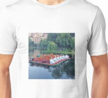 Boston Swan Boats Unisex T-Shirt