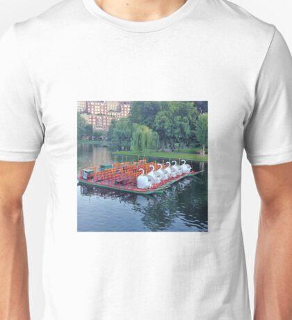 Boston Swan Boats Unisex T-Shirt