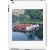 Boston Swan Boats iPad Case/Skin